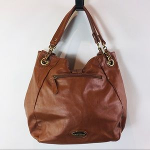 Big Buddha Bag Large Shoulder Bag Brown Pockets